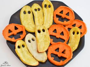 Sweet Potato Halloween Chips