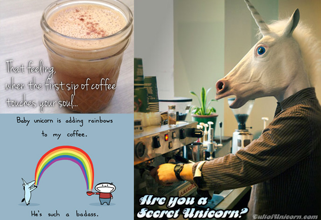 Unicorn fuel bullet proof coffee