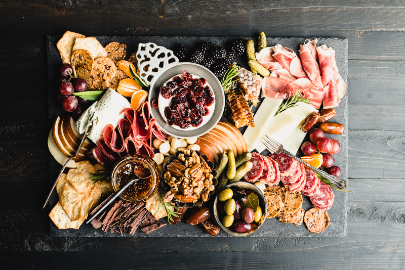 Gluten-free and paleo antipasto platter