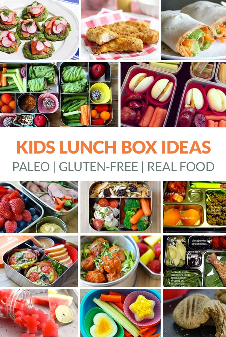 Healthy Paleo Kids Lunch Box Ideas (Real Food, Gluten-free)