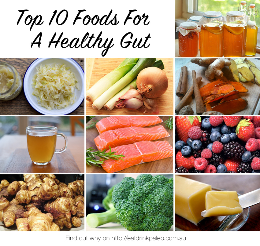Top 10 Foods For A Healthy Gut