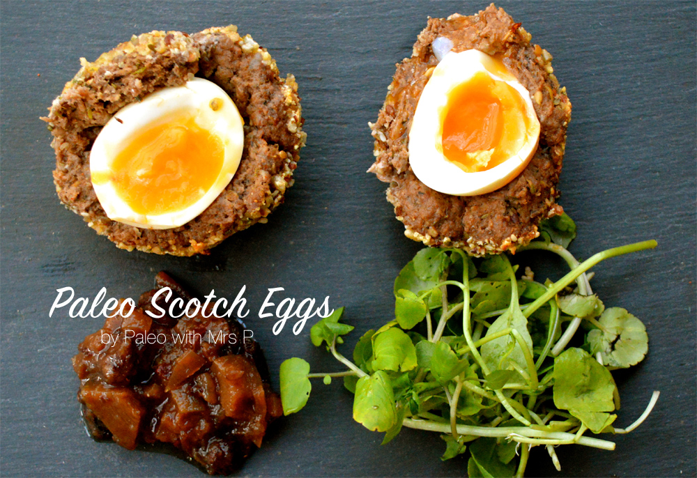 Paleo Scotch Eggs recipe