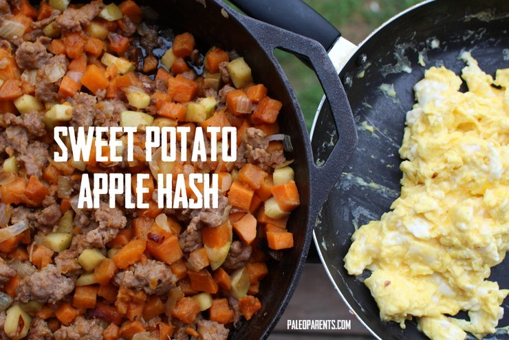 Sweet Potato Apple Hash by Paleo Parents
