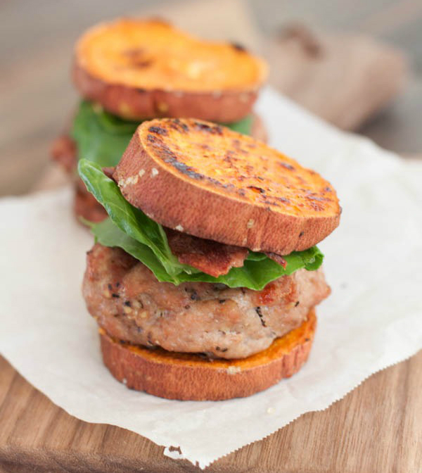 Sweet Potato Turkey Burger Sliders from Sweet Treats & More