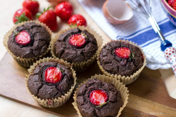 Paleo Chocolate Muffins (Nut-Free)
