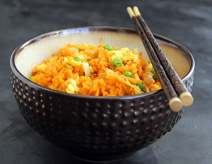 Sweet potato fried rice by Inspiralized