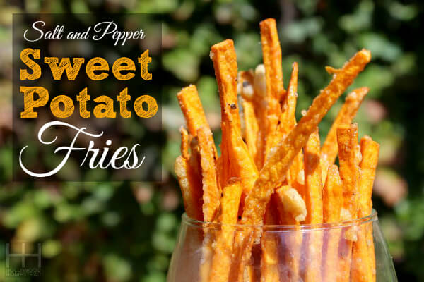 Sweet Potato Fries by Hollywood Homestead