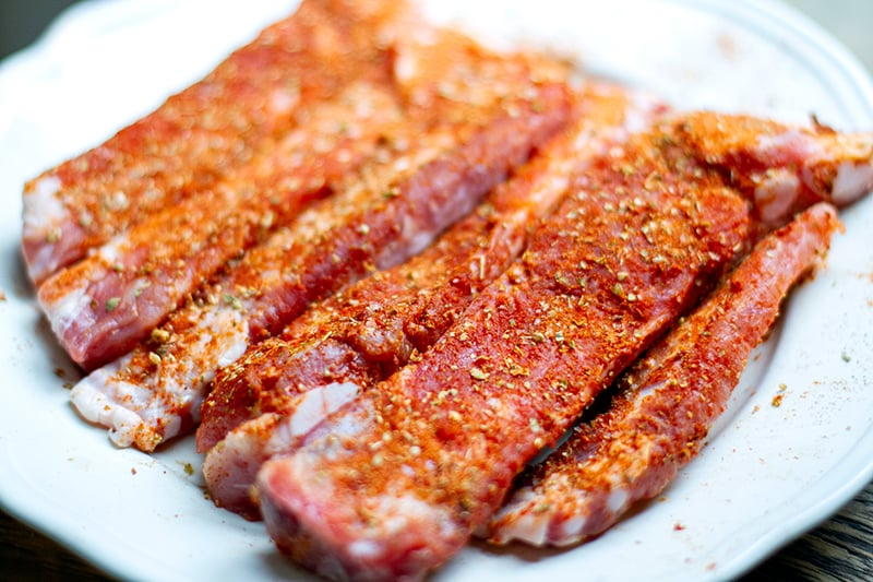 Dry rub for ribs in the oven