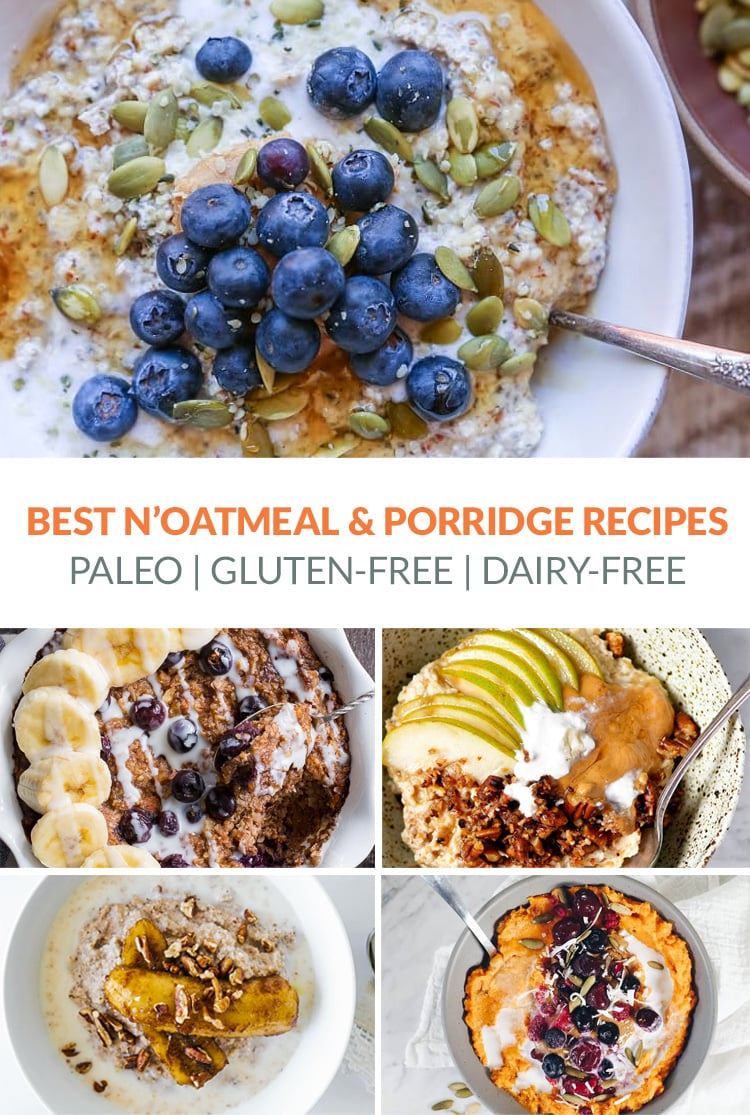 Best Paleo Porridge, Oats, N'Oatmeal Recipes