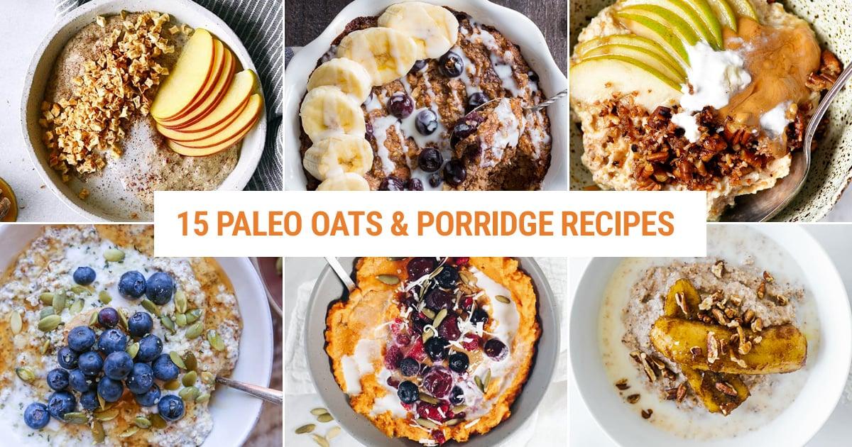 Paleo oats and porridge, noatmeal