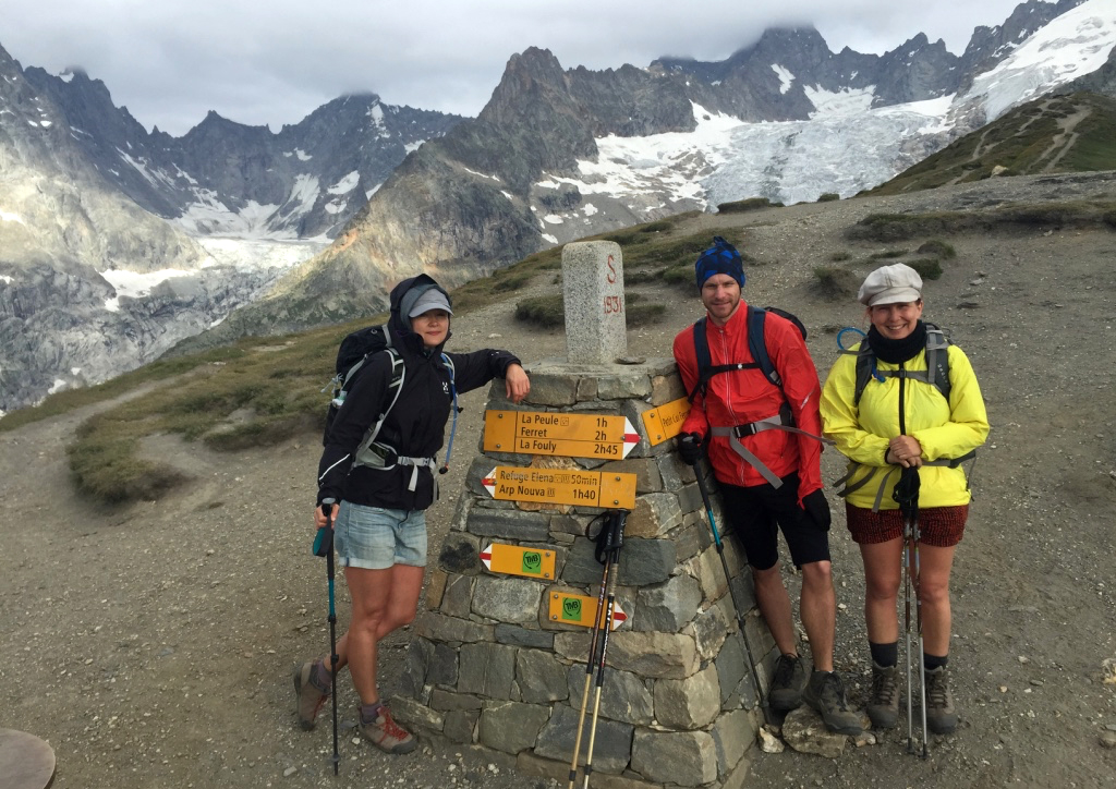 Hiking Tour Du Mont Blanc - crossing