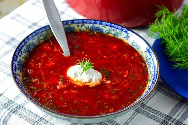 Paleo & Vegan Borscht Soup