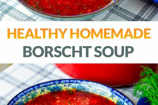 Borscht Beet Soup Recipe (Vegetarian, Gluten-Free)