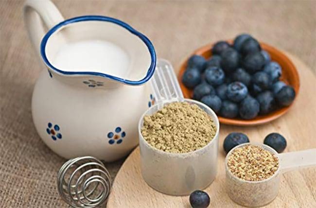 Plant-based protein powders: hemp