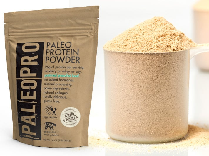 Paleo Protein Powder with beef protein isolate