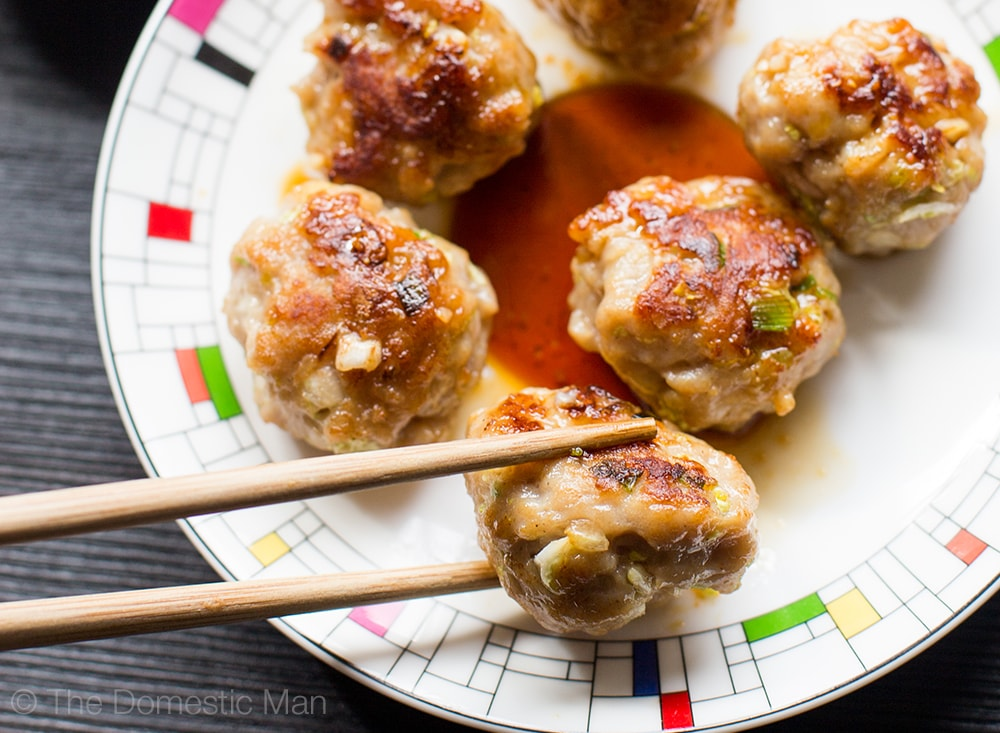 paleo gyoza bites with ground pork