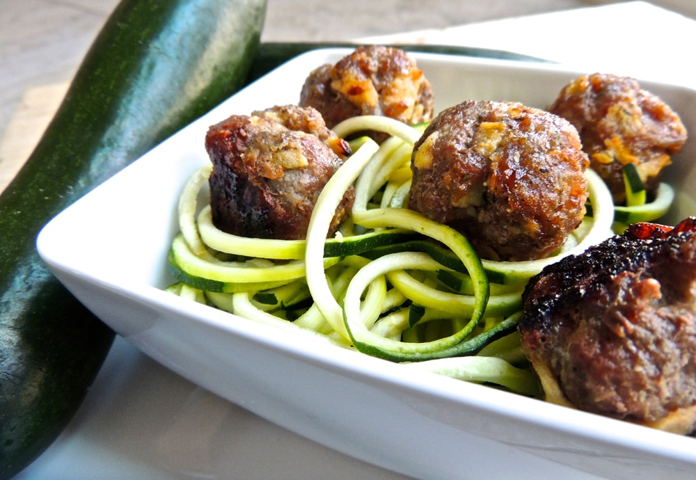 Paleo ground pork meat balls recipe
