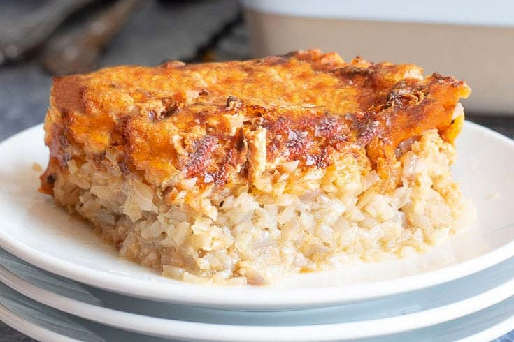 Ground chicken casserole