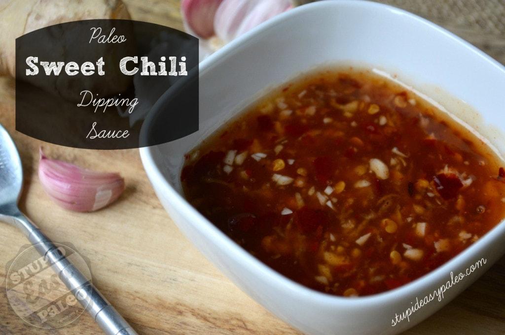 Paleo Sweet Chilli Sauce