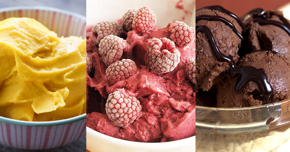 Vitamix ice cream recipes