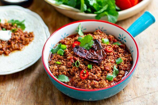 Chorizo Chili Con Carne (Paleo, Gluten-Free)