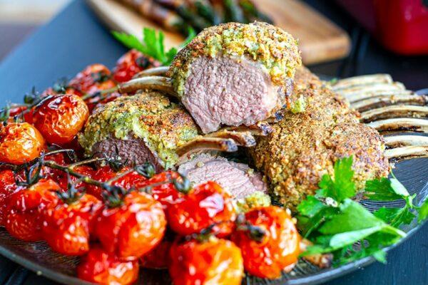 Crusted rack of lamb recipe