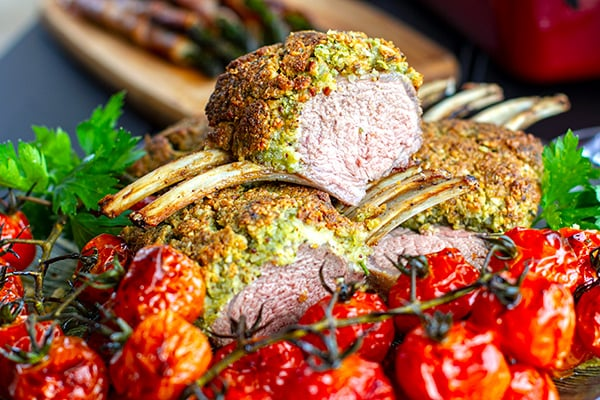 Crusted rack of lamb recipe