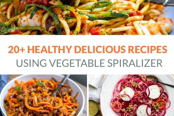 Spiralizer recipes vegetables