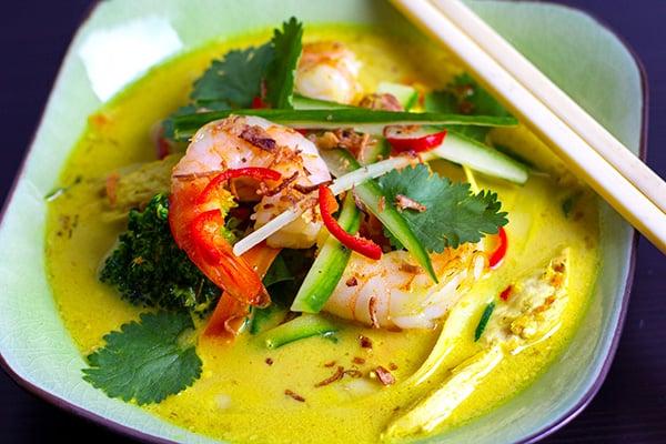 Thai laksa recipe