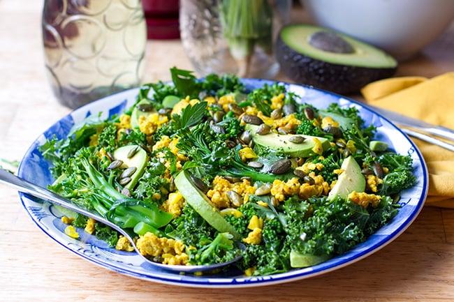turmeric kale salad