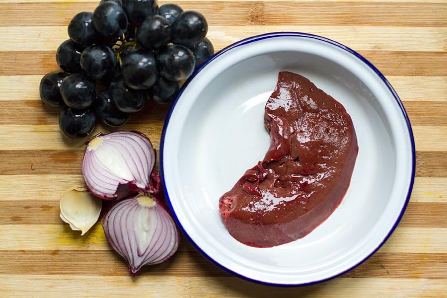 grapes-liver