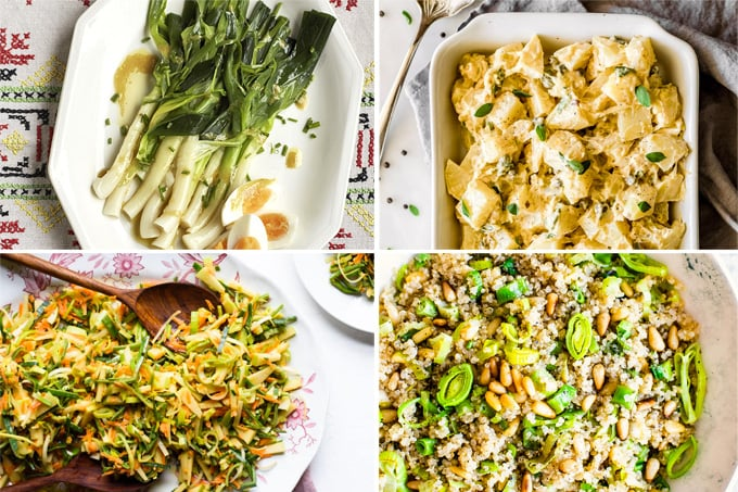 Leek salad recipes