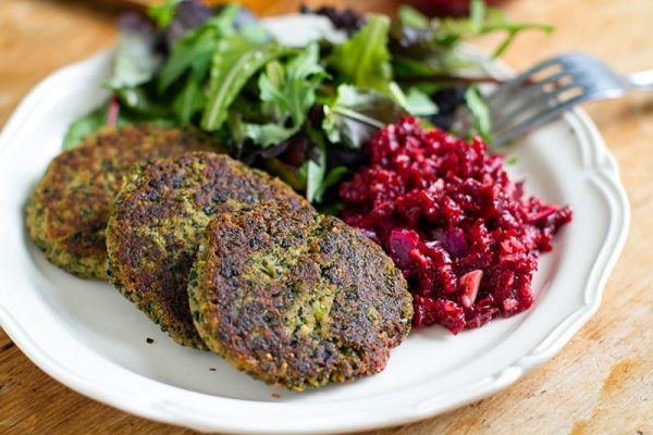 Healthy Tuna Patties With Kale