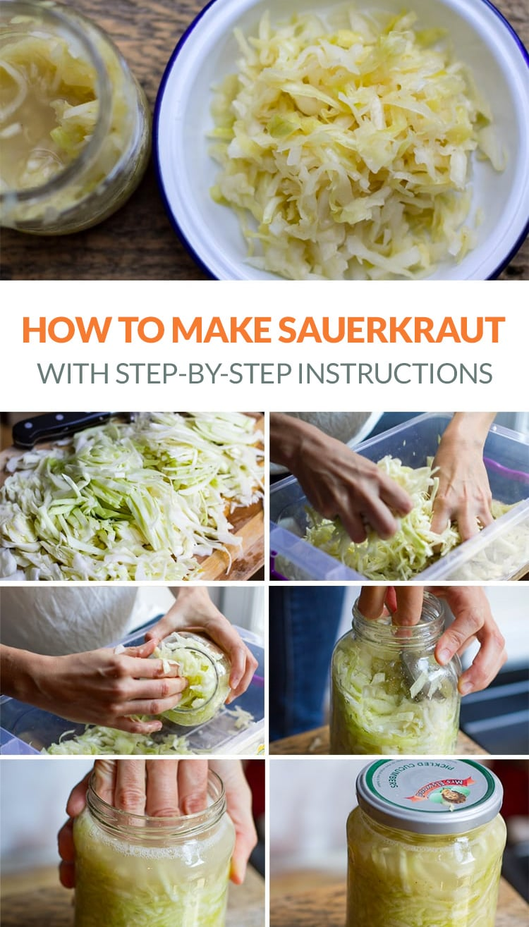 Quick and easy sauerkraut recipe