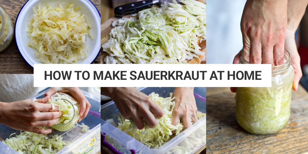 Quick Sauerkraut Recipe With Step By Step Photos Irena