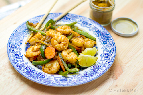 paleo-prawn-curry