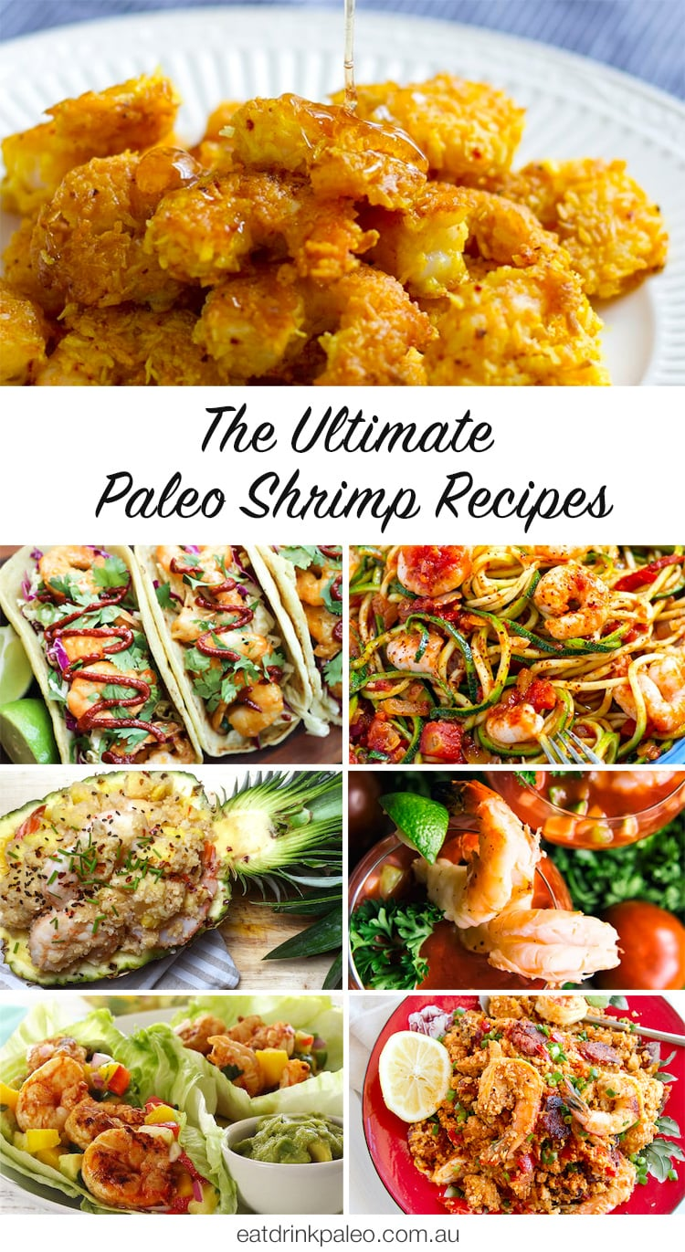 The Ultimate Paleo Shrimp Recipes - seriously, these are all so good!