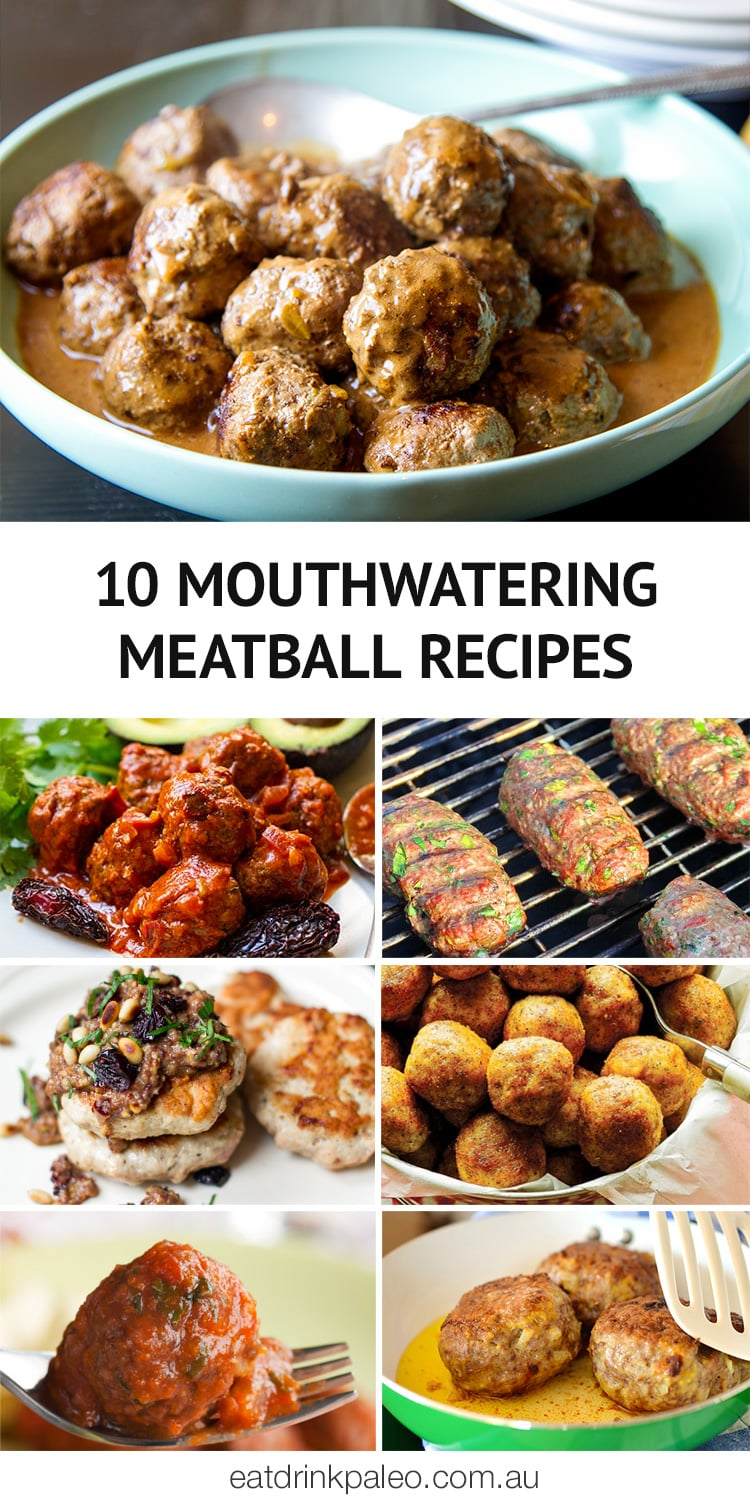 10 Mouthwatering Paleo, Keto & Whole30 Meatball Recipes