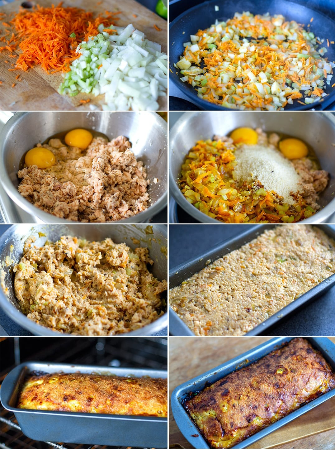 Canned salmon loaf recipe steps