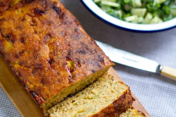 Salmon Loaf With Cucumber Salad (Paleo, Gluten-free, Whole30 Recipe)