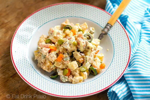 Ensalada Rusa Spanish Take On A Classic Potato Salad