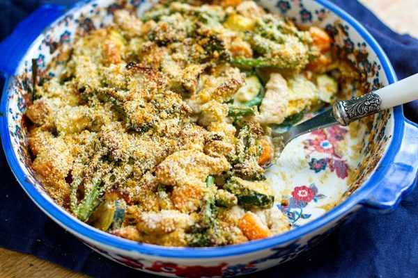 Creamy Paleo Turkey & Broccoli Casserole (Divan Style)