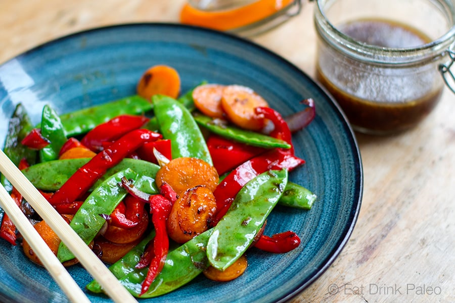 Quick Paleo Vegetable Stir Fry