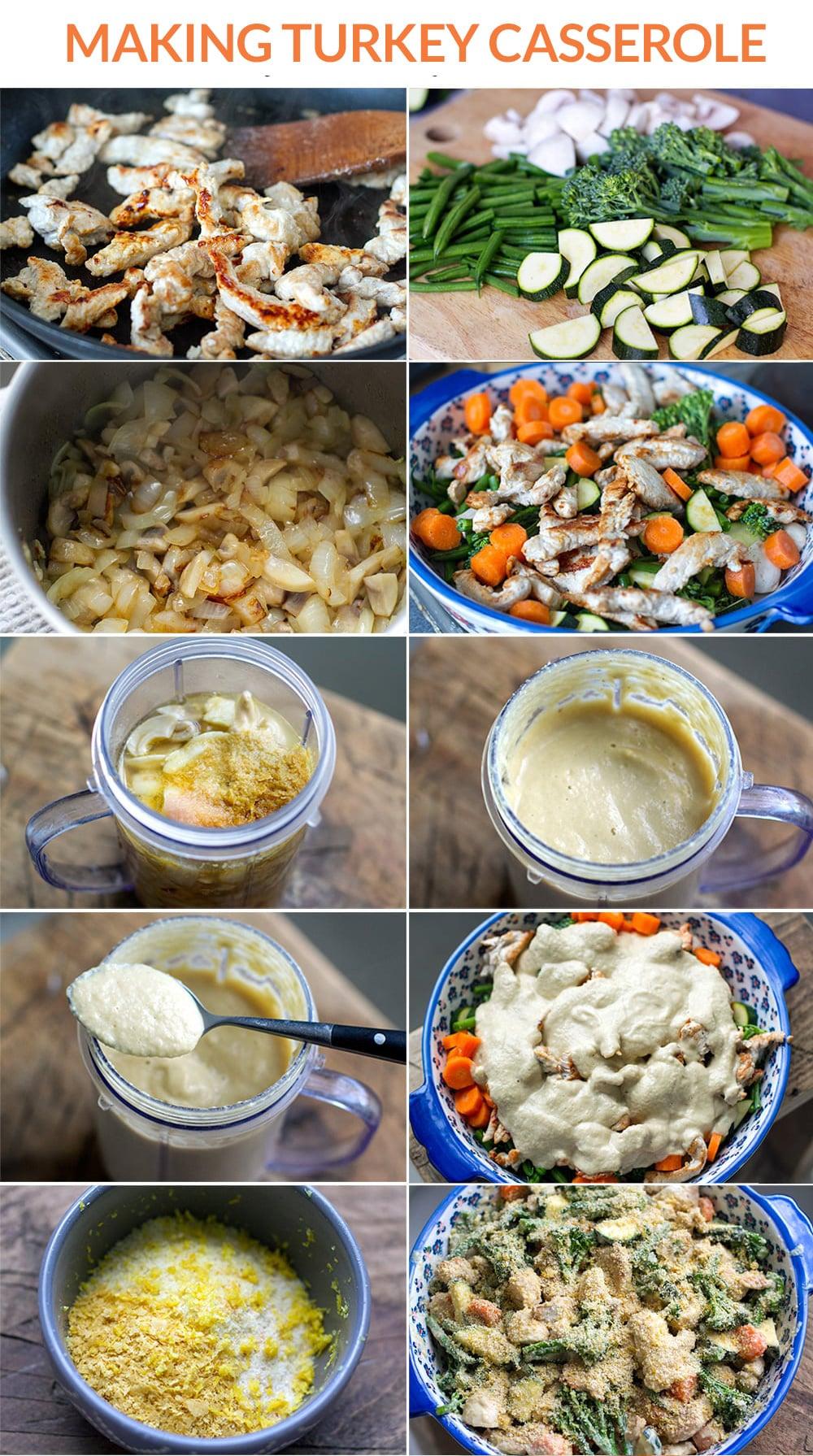 How to make a creamy, dairy-free paleo turkey broccoli casserole