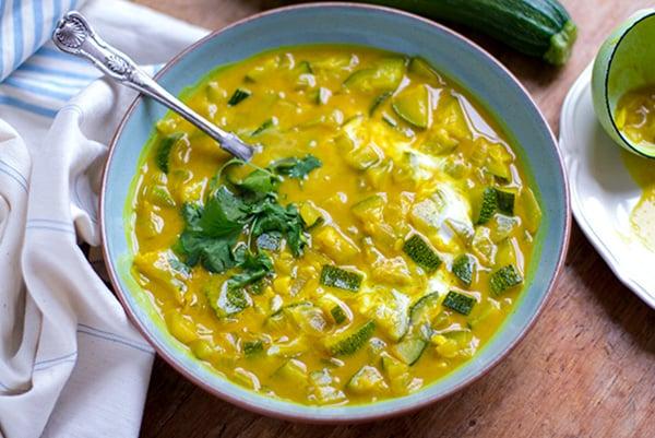 Turmeric Zucchini Soup