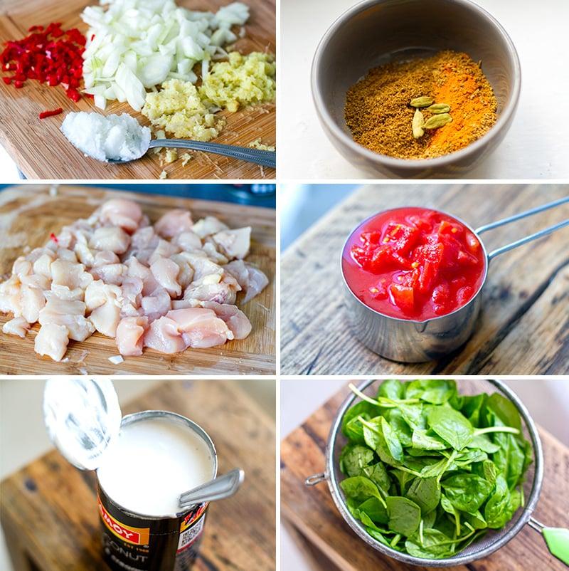 Chicken Tikka Masala Ingredients