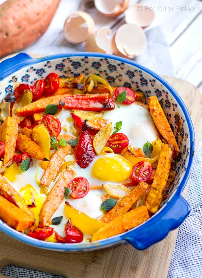 Sweet Potato Egg Bake - Paleo & Gluten-Free