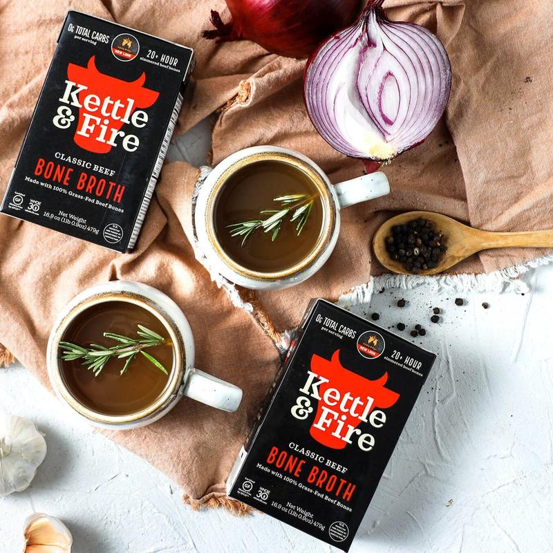 Kettle & Fire Bone Broth Discount