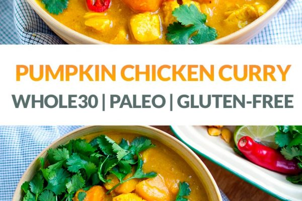 Easy Pumpkin Chicken Curry