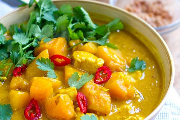 Fast & Easy Chicken Pumpkin Curry Recipe